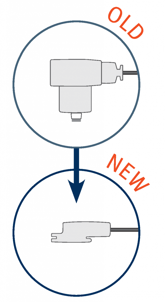 actiCAP Electrode: Old vs. New